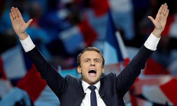 Tân Tổng thống Pháp Emmanuel Macron. (Ảnh: Reuters)