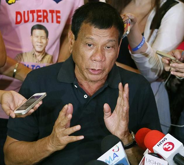 Tổng thống Rodrigo Duterte (Ảnh: Getty)
