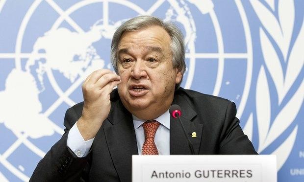 Tổng thư ký Liên Hợp Quốc Antonio Guterres (Ảnh: UN)
