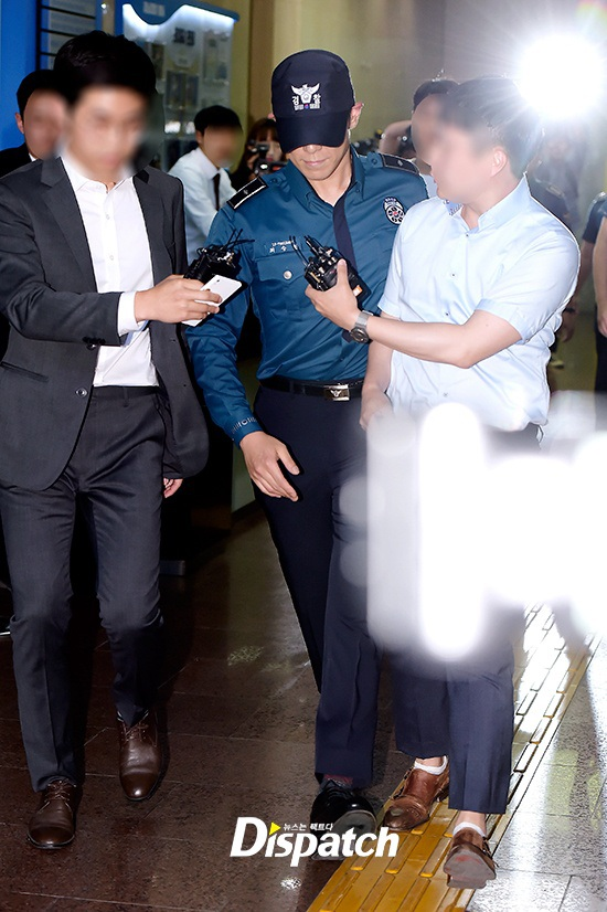 T.O.P đã bị trục xuất khỏi quân ngũ vào chiều qua 5/6/2017 vì đang bị điều tra sử dụng cần sa trái phép.