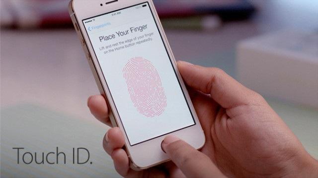 Cảm biến vân tay trên iPhone