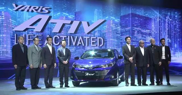 Toyota Yaris Ativ chính thức ra mắt - 1