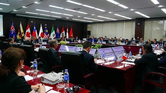 Cuộc họp TPP cấp Bộ trưởng diễn ra ngày 9/11 (Ảnh: Xuân Ngọc)