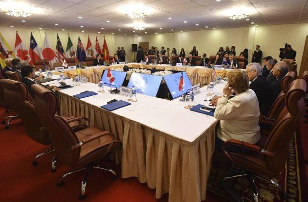 TPP được hồi sức sau sự cố Thủ tướng Canada Justin Trudeau vắng họp. (Ảnh: Getty)