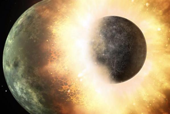 Nghiên cứu mới cho thấy lượng đồng vị sắt nặng của Trái Đất có thể phát triển do sự va chạm dữ dội giữa Trái Đất và một hành tinh khác