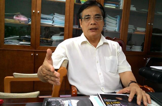 PGS, TS Trần Đình Thiên, Viện trưởng Viện Kinh tế Việt Nam