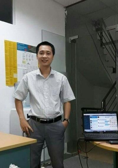 Anh Trần Đức Hiếu - người sáng tạo ra website học tiếng Anh trực tuyến hiệu quả.