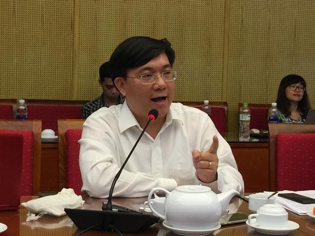 Ông Trần Duy Đông, Vụ trưởng Vụ Quản lý các khu kinh tế.