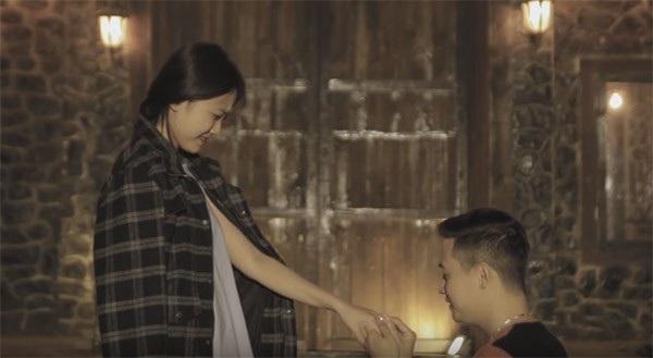 Một cảnh quay lãng mạn trong phim ngắn Sau khi chia tay