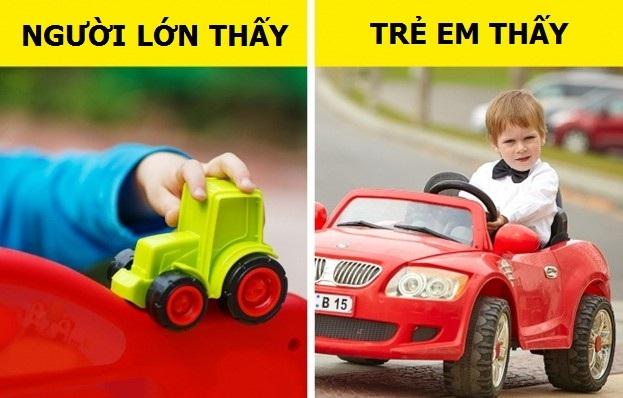 Với tụi nhỏ, mỗi chiếc xe đồ chơi cũng giá trị như một chiếc siêu xe đích thực