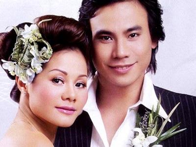 Hà Trí Quang và vợ