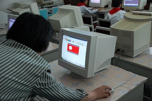 Giờ học tin học của học sinh Triều Tiên (Ảnh: Stephan/Flickr)