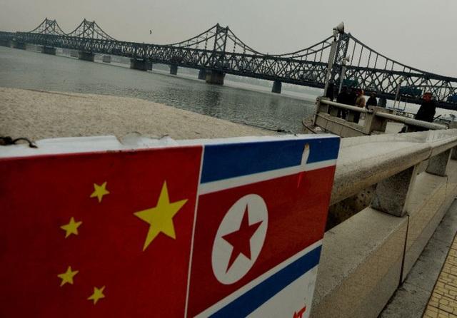 Khu vực biên giới Triều Tiên - Trung Quốc (Ảnh: AFP)