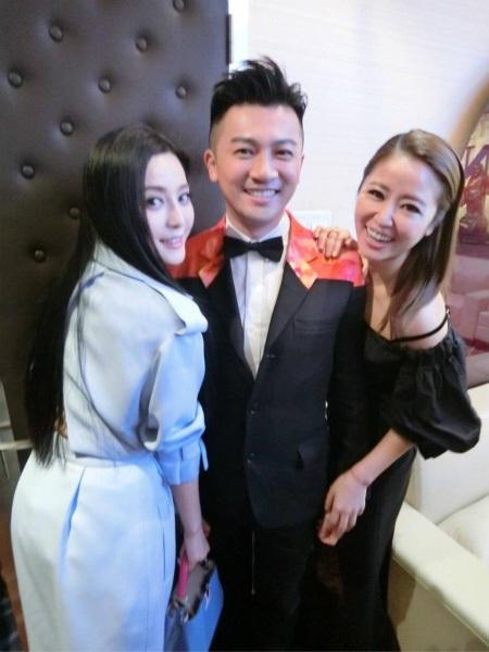 Lâm Tâm Như và Phạm Băng Băng tới ủng hộ Tô Hữu Bằng ra mắt phim mới vào năm 2016.