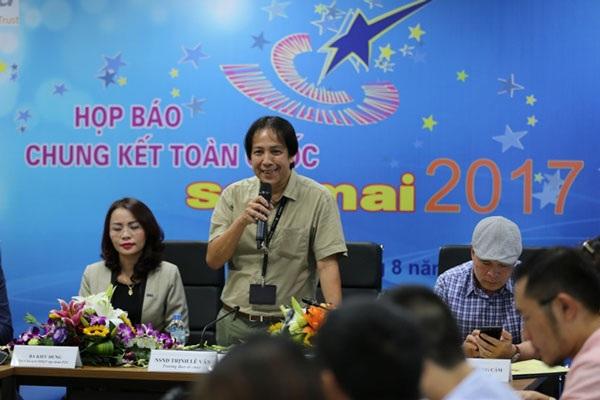 Chia sẻ tại buổi họp báo, NSND Trịnh Lê Văn, Trưởng BTC cuộc thi Sao mai khẳng định, đây là sân chơi âm nhạc thiên về chuyên môn, có phong cách riêng.