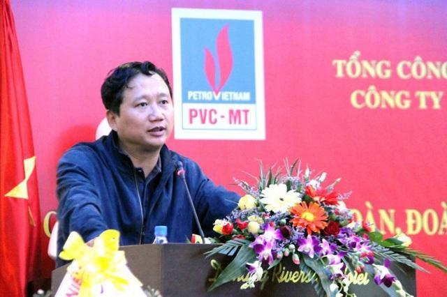 Trịnh Xuân Thanh khi còn lãnh đạo PVC.
