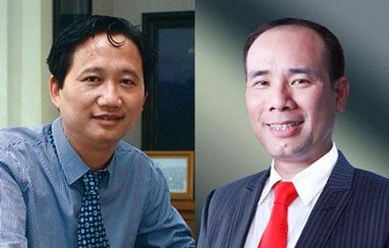 Cặp đôi Trịnh Xuân Thanh - Vũ Đức Thuận hầu toà với hai tội danh.