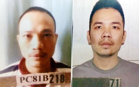 Hai tử tù Lê Văn Thọ và Nguyễn Văn Tình.