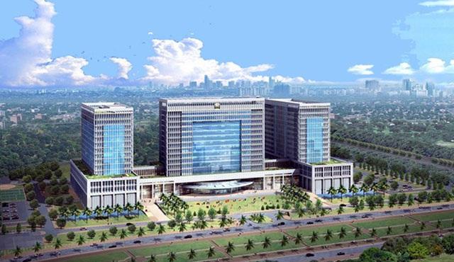 Dự án xây dựng trụ sở Bộ Ngoại giao vẫn đang trong quá trình triển khai