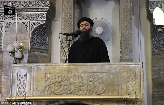 Trùm khủng bố IS Abu Bakr al-Baghdadi (Ảnh: Getty)