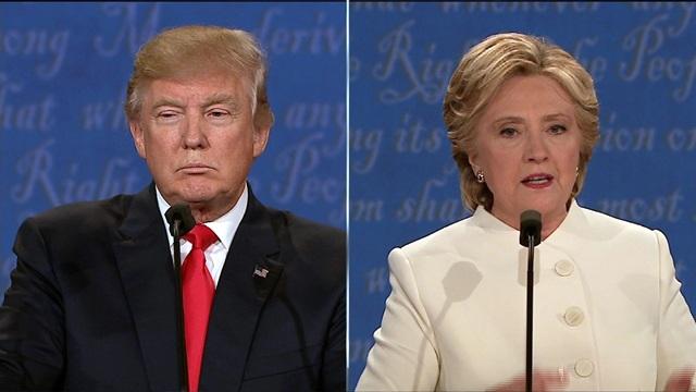 Hai ứng cử viên tổng thống Mỹ Donald Trump và Hillary Clinton (Ảnh: Fox)