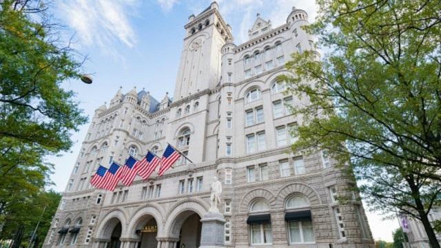 Khách sạn Trump International tại thủ đô Washington (Ảnh: The Hill)