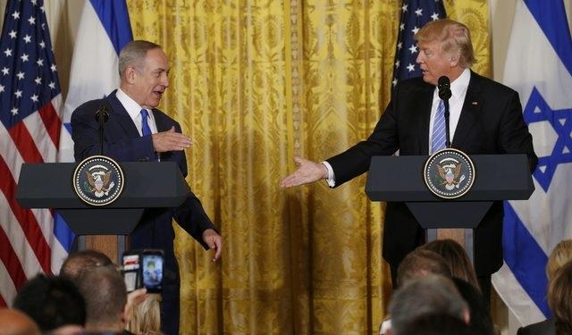 Tổng thống Mỹ Donald Trump và Thủ tướng Israel Benjamin Netanyahu (Ảnh: Reuters)