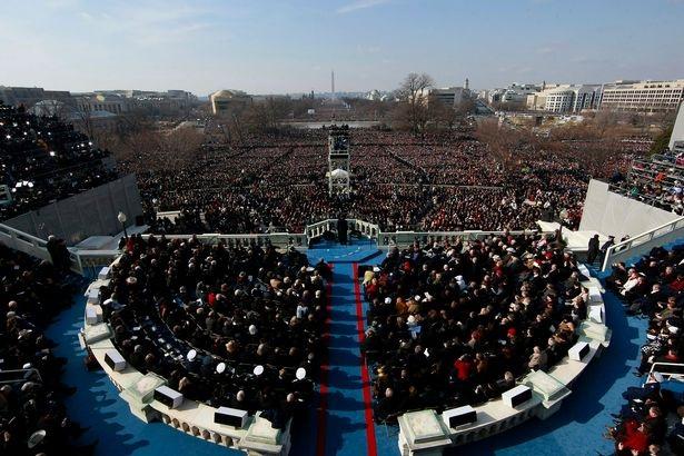 Lễ nhậm chức dự kiến sẽ diễn ra tại một sân khấu lớn tương tự như thế này (Ảnh: Getty)