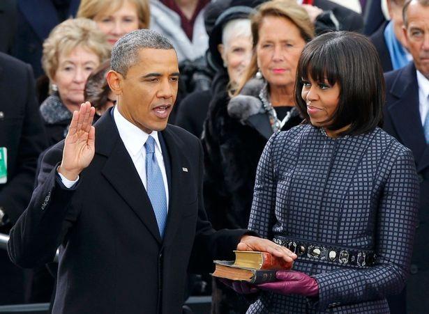 Ông Obama tuyên thệ nhậm chức vào năm 2009 (Ảnh: Reuters)
