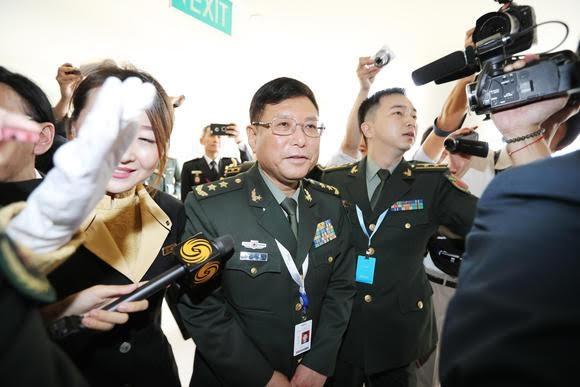 Phái đoàn Trung Quốc tại cuộc Đối thoại Shangri-La 2017. (Ảnh: Nikkei)
