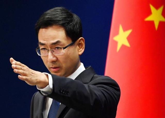 Người phát ngôn Bộ Ngoại giao Trung Quốc Cảnh Sảng (Ảnh: Sankei)