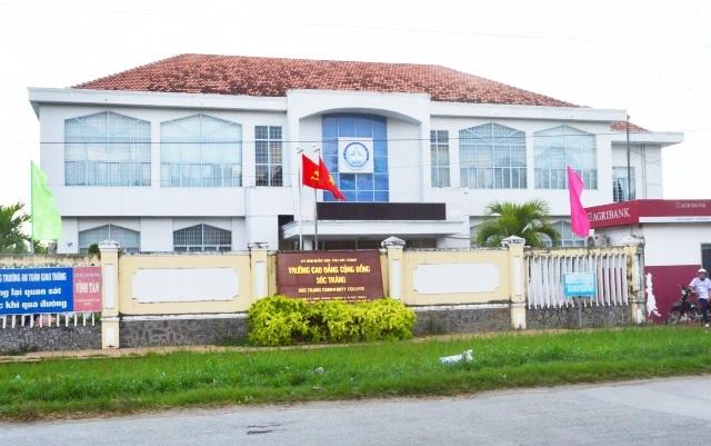 Trường Cao đẳng Cộng đồng tỉnh Sóc Trăng.