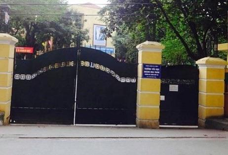 Trường tiểu học Hoàng Hoa Thám, Ba Đình, Hà Nội