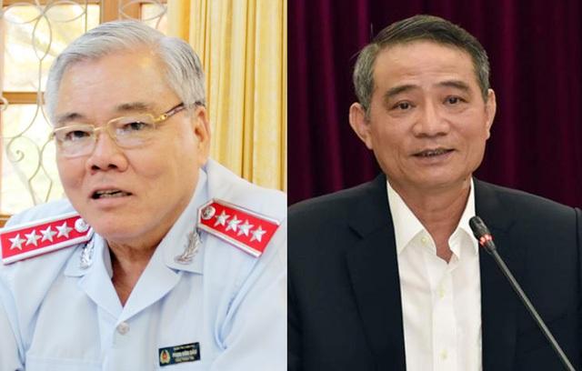 Tổng Thanh tra Chính phủ Phan Văn Sáu và Bộ trưởng GTVT Trương Quang Nghĩa sắp được Quốc hội miễn nhiệm.