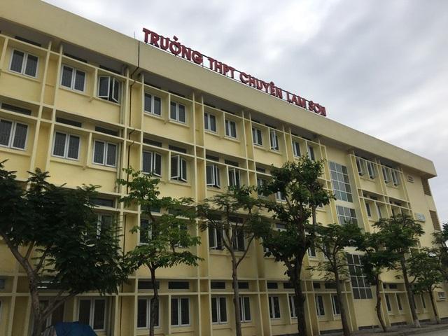 Chỉ còn ít ngày nữa, học sinh đậu vào trường THPT chuyên Lam Sơn sẽ nhập trường
