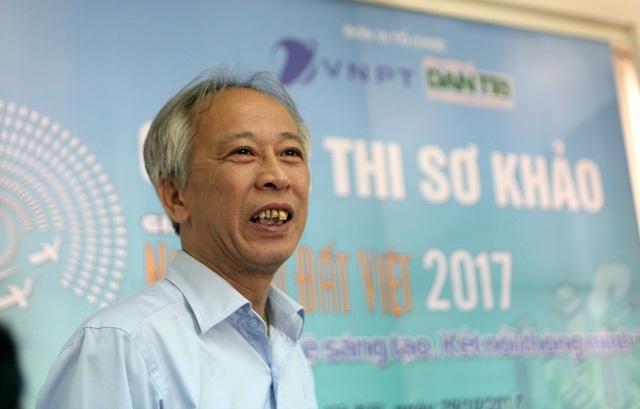 Ông Nguyễn Long - Chủ tịch Hội đồng giám khảo lĩnh vực CNTT