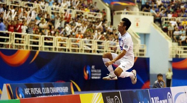Thái Sơn Nam lần thứ 2 liên tiếp giành HCĐ giải futsal các CLB châu Á