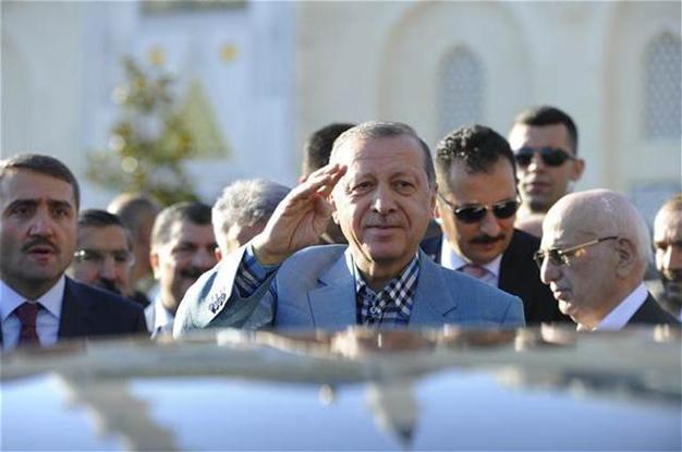 Tổng thống Thổ Nhĩ Kỳ Recep Tayyip Erdogan. (Ảnh: Hurriyet)