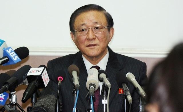 Đại sứ Triều Tiên tại Trung Quốc Ji Jae-ryong (Ảnh: KCNA)