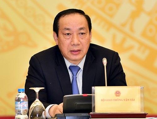 Thứ trưởng Bộ GTVT Nguyễn Hồng Trường (ảnh VGP)
