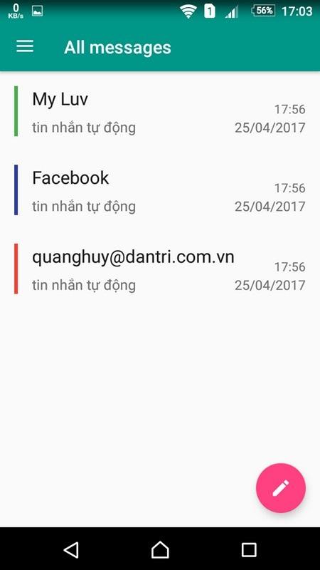 Hẹn giờ để smartphone tự động gửi tin nhắn SMS, email, đăng cập nhật Facebook... - 4