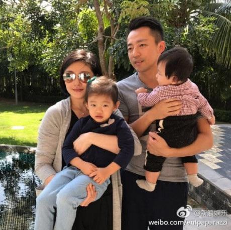 Gia đình nhỏ hạnh phúc của Từ Hy Viên và doanh nhân Uông Tiểu Phi