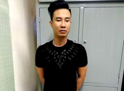 Tú ông Lê Hồng Hòa tại trụ sở Phòng CSHS - CATP Hà Nội