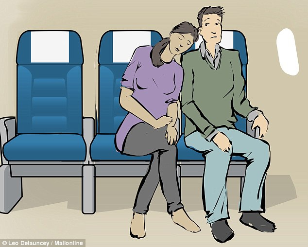 8 tư thế giúp bạn dễ ngủ hơn khi đi máy bay - 3