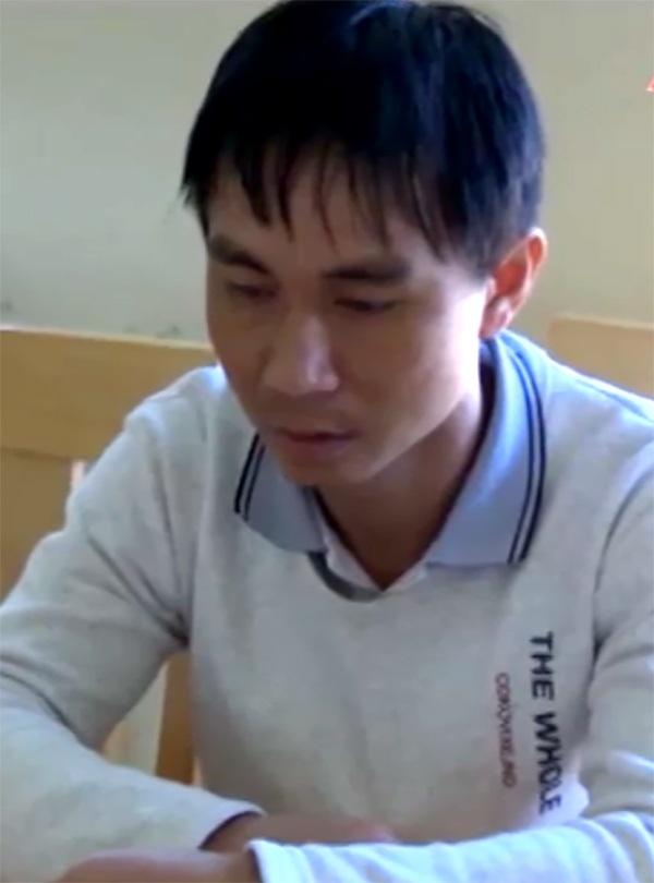 Đối tượng Trần Văn Tuân bị bắt sau gần 4 năm lẩn trốn.