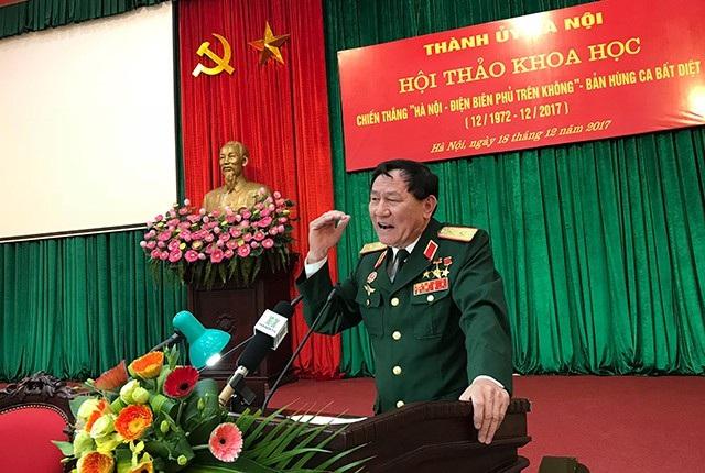 Trung tướng Phạm Tuân chia sẻ cách đánh pháo đài bay B52
