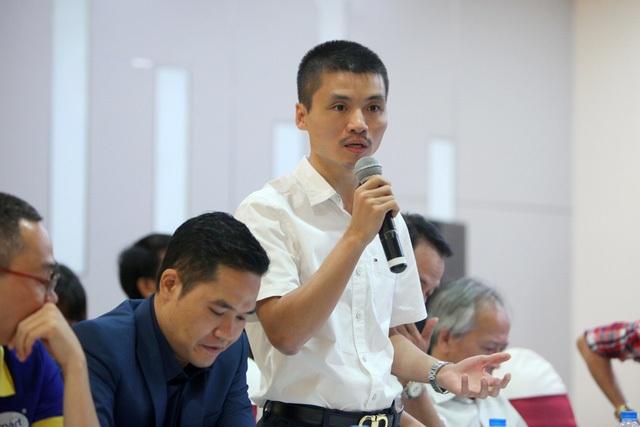 Nhà báo Phạm Tuấn Anh - Phó Tổng biên tập báo Điện tử Dân trí, Phó Ban Tổ chức Giải thưởng NTĐV.