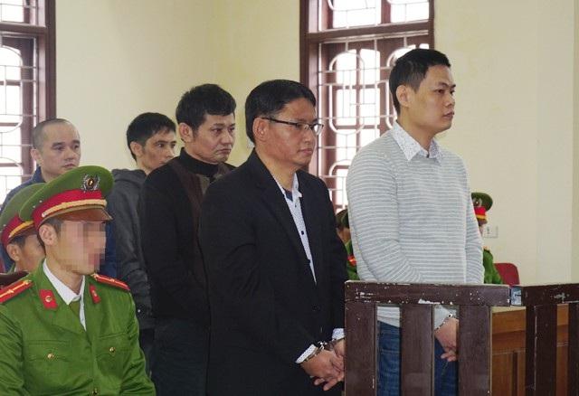 Các bị cáo tại phiên tòa phúc thẩm cấp cao, ngày 26/12/2017