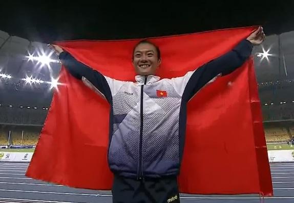 Tú Chinh khiến Thái Lan đánh mất thế mạnh ở các nội dung 100m và 200m nữ, trong môn điền kinh (ảnh: Q.H)