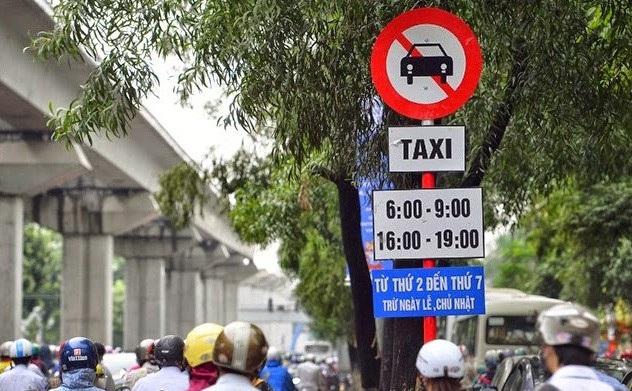 Xe Uber, Grab vẫn được hoạt động tại các tuyến phố cấm xe taxi.